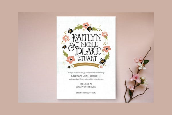-Fairy Tales Invitation Card