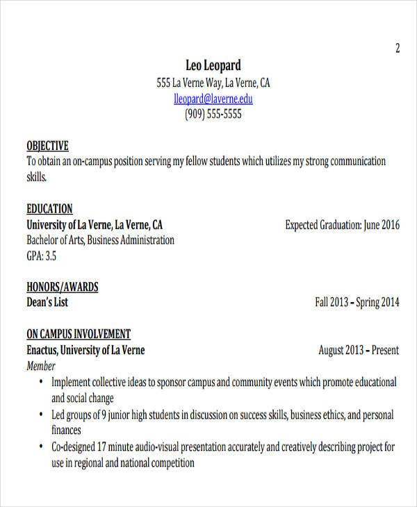 20  modern business resume templates