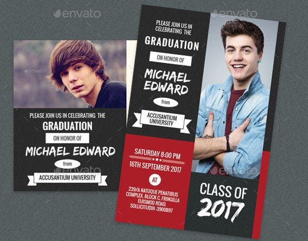 graduation photo invitation card3