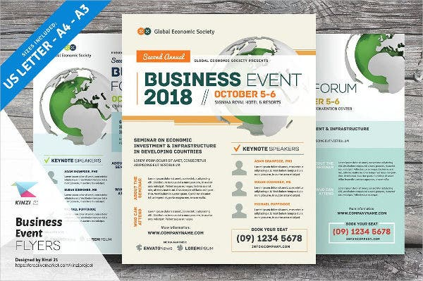 business meeting event flyer1