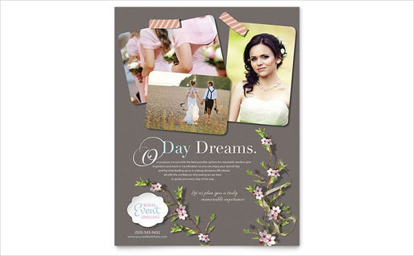wedding planner flyer1