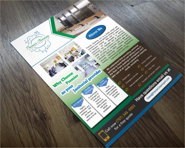 Free Commercial Cleaning Flyer