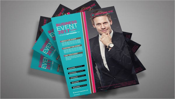 example of flyer templates feature images