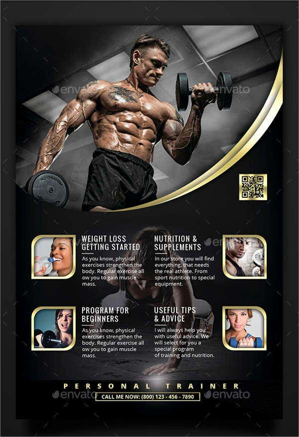personal fitness trainer flyer1