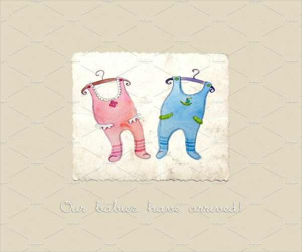 twins-baby-shower-greeting-card