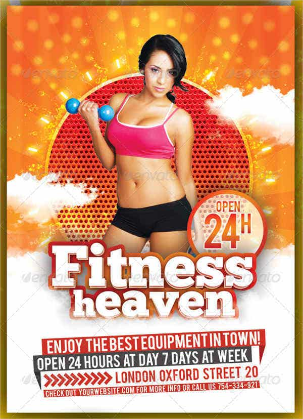 Fitness and Summer Party Multipurpose Flyer