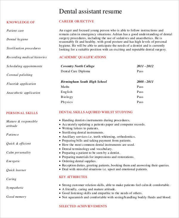 50  administration resume samples
