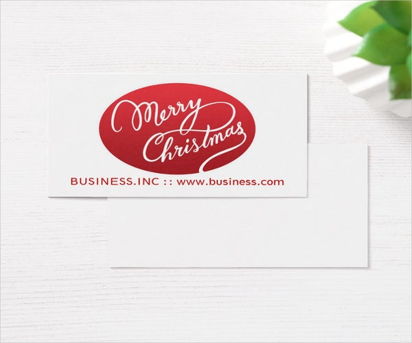 corporate business greeting card