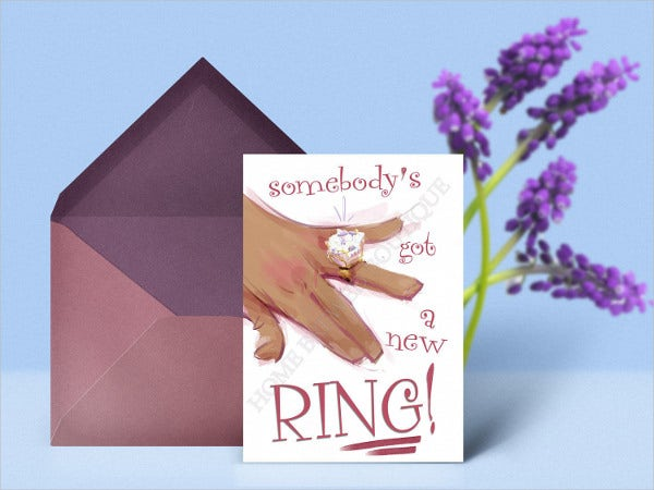 engagement party greeting card2