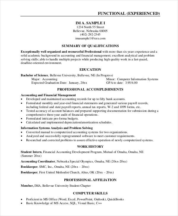 best business resume format  best business resume - Funf.pandroid.co