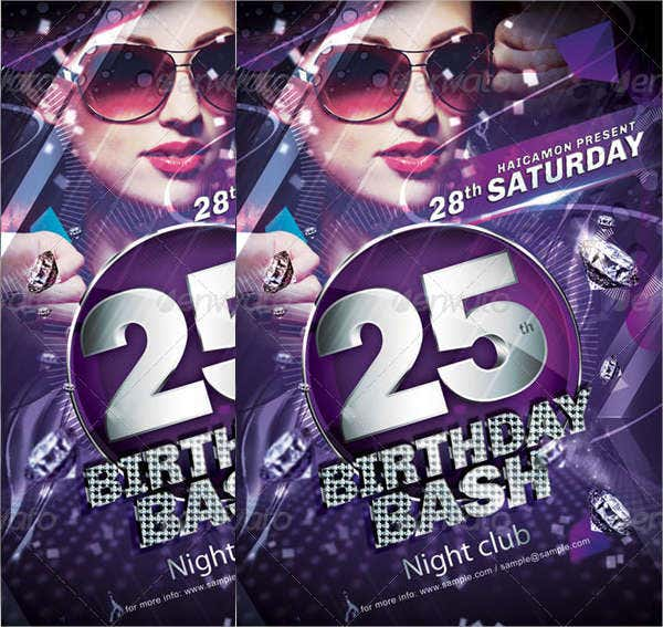 birthday-bash-invitation-flyer