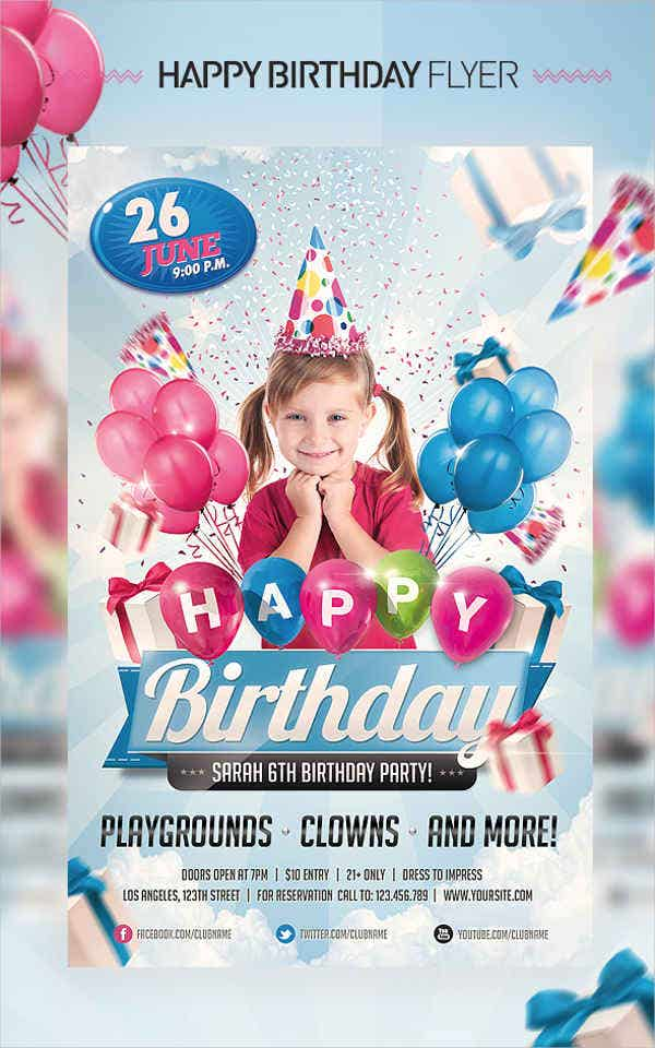 kids-birthday-invitation-flyer