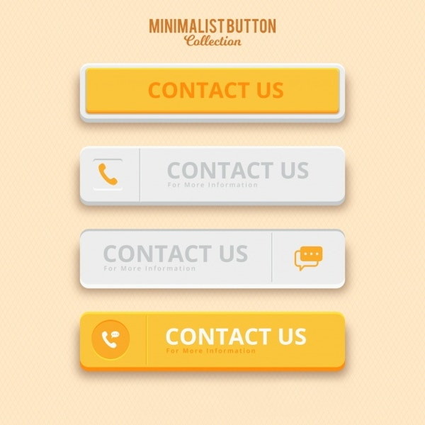 minimalist-contact-us-buttons