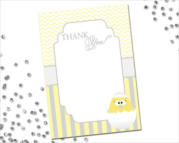 printable easter thank you card