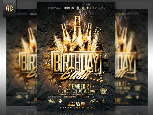 51  invitation flyer design templates