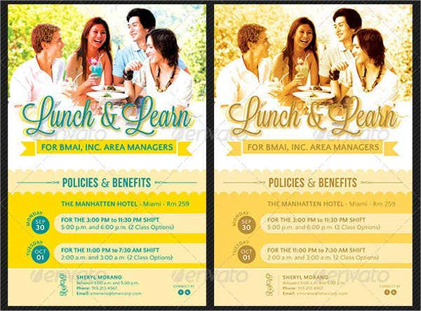customized-lunch-invitation-flyer