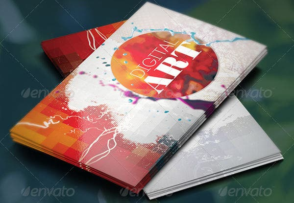 -Professional Artist Business Card