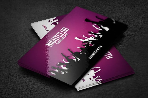 Sample business cards free premium templates professional dj business card colourmoves