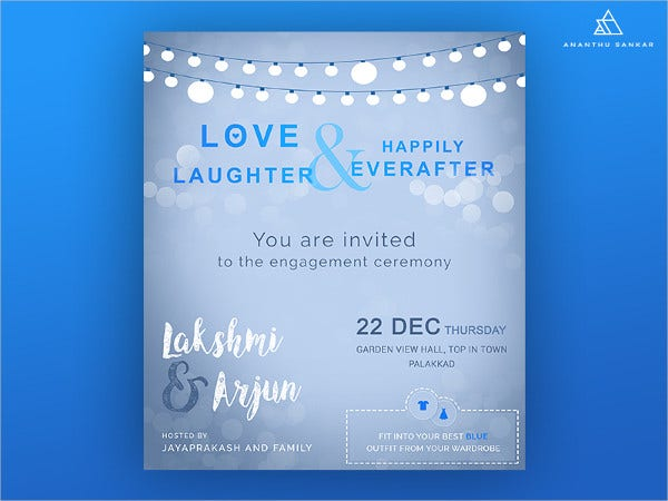 free sample engagement party invitation1