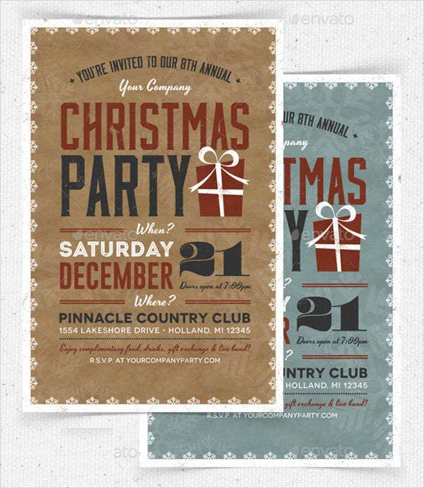 christmas-dinner-invitation-flyer