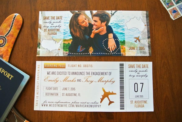 free printable photo engagement invitation2