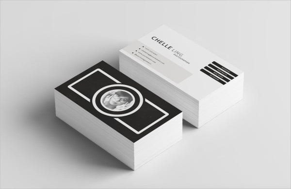 -Diy Photography Business Card