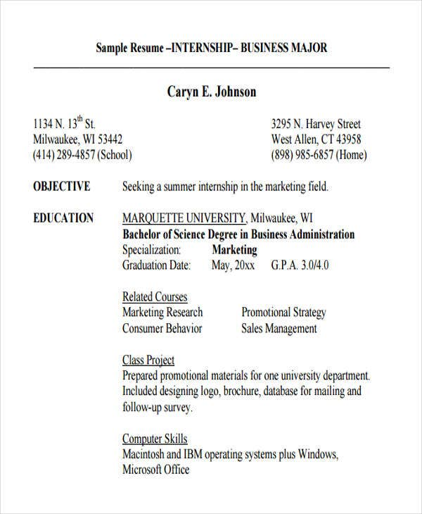 18 Business Resume Templates