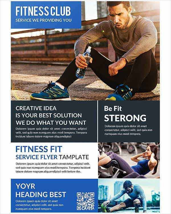 Fitness and Health Product Flyer