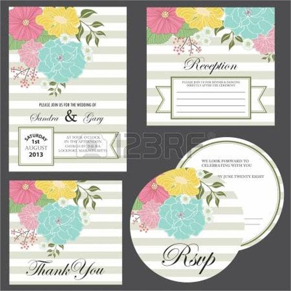 bridal shower thank you card responses