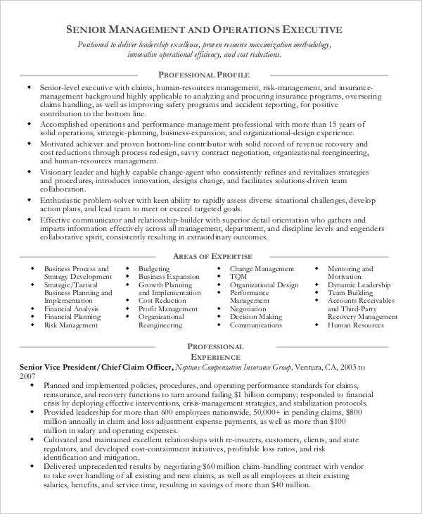 Manager Resume Example | 49 Professional Manager Resumes Pdf Doc Free Premium Templates