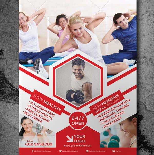 Global Corporate Fitness Flyer