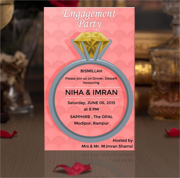 24  free engagement invitation templates