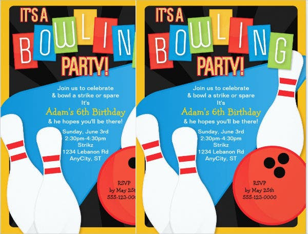 bowling-party-invitation-flyer