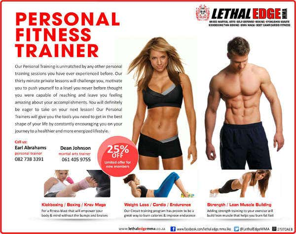 Personal Physical Fitness Flyer