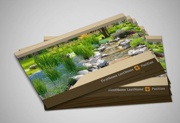 -Landscaping Company Business Card
