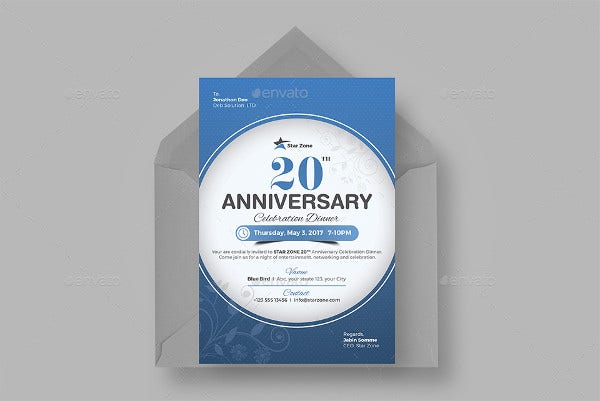 company-anniversary-invitation-flyer