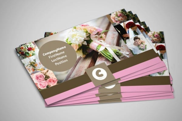 -Wedding Planner Business Card