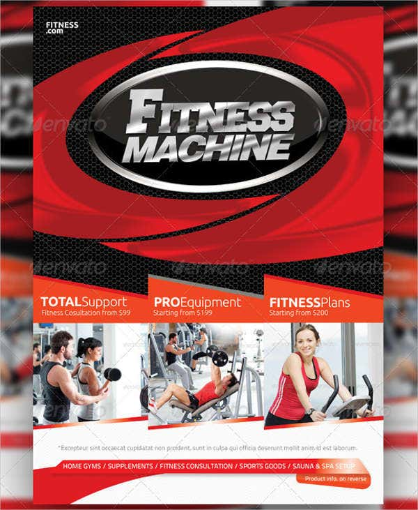 Fitness Business Marketing Flyer
