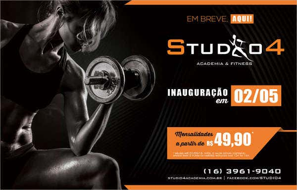 Fitness Personal Studio Flyer