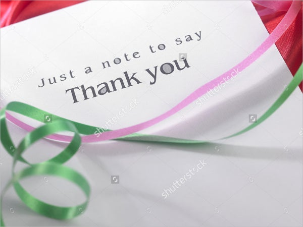 62 Thank You Card Examples Free Premium Templates