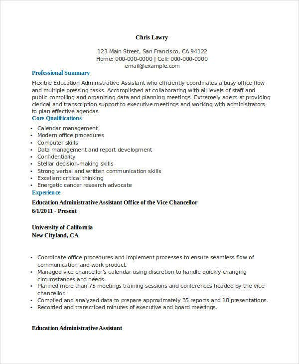 best education resume templates 21 free word pdf documents