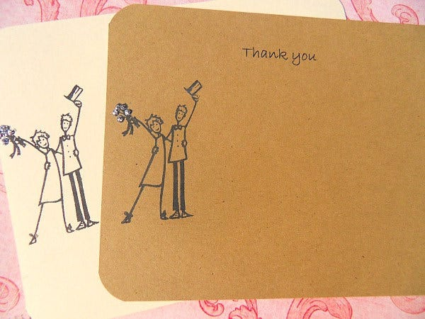 wedding gift thank you card5