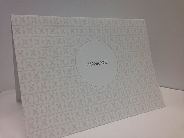 free blank thank you card