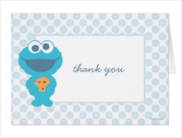 printable baby shower thank you card1