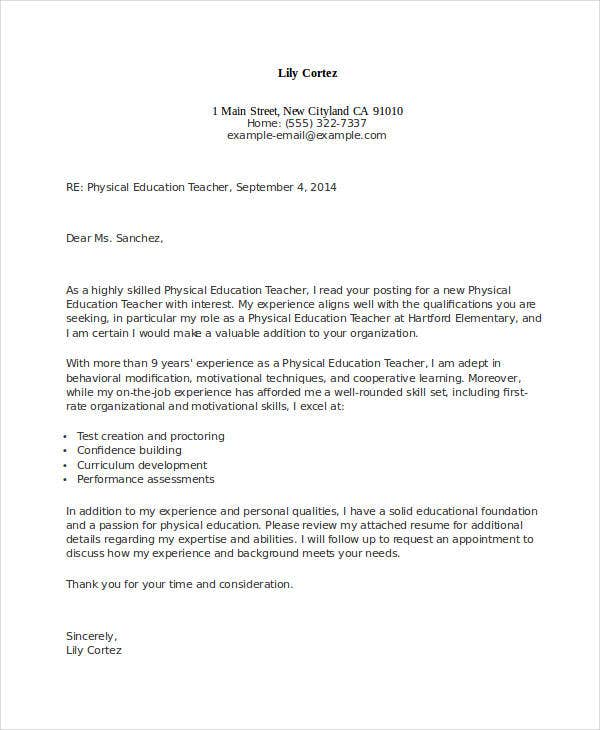 Education Cover Letter Sample from images.template.net