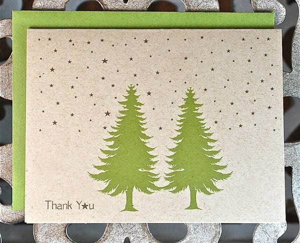 thank you note for christmas card