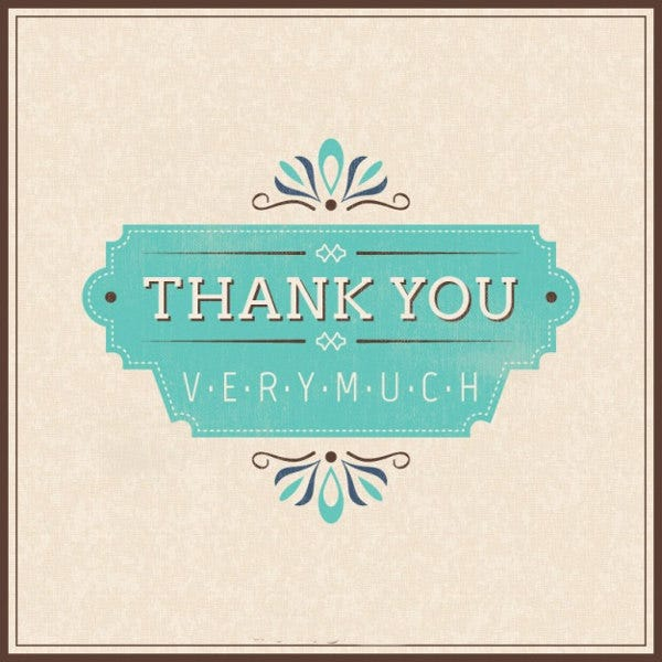 free printable thank you card3