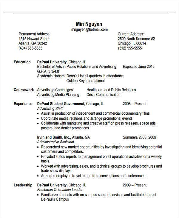 education administrative assistant resume2