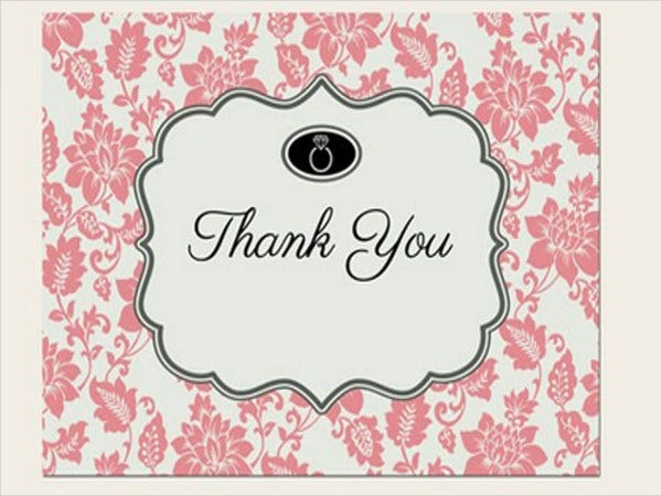 vintage-engagement-thank-you-card