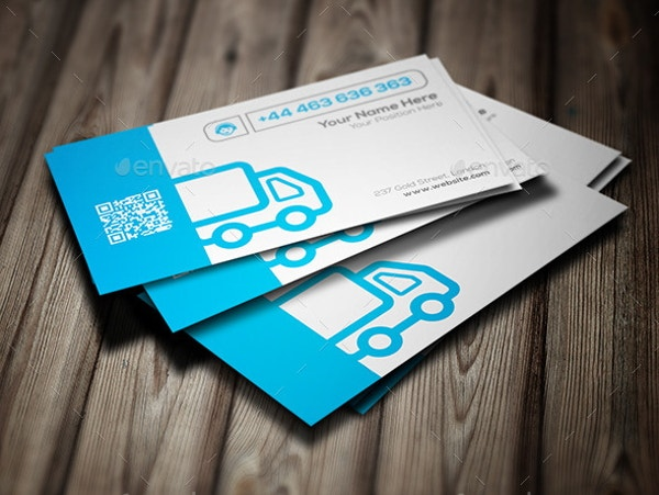 transport-service-business-card